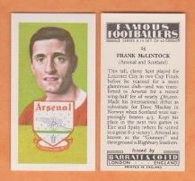 Arsenal Frank McLintock Scotland 25